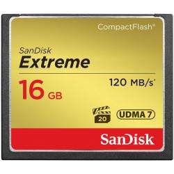 کارت حافظه CompactFlash سن دیسک مدل Extreme سرعت 800X 120MBps ظرفیت 16 گیگابایت