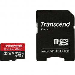 کارت حافظه microSDHC ترنسند مدل Premium کلاس 10 استاندارد UHS-I U1 ظرفیت 32 گیگابایت
