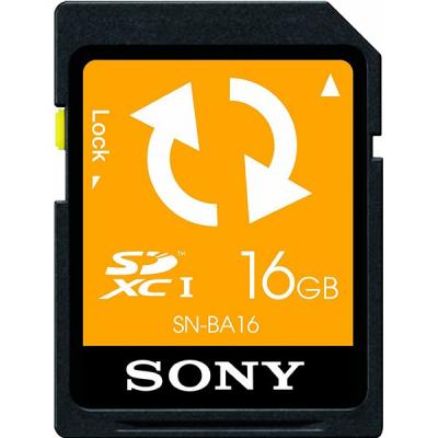 کارت حافظه SD سونی مدل SNBA16 ظرفیت 16 گیگابایت