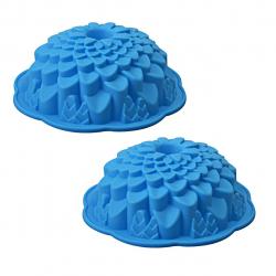 قالب شیرینی رجینال مدل Flower-4 سایز 21 بسته 2 عددی