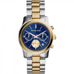 ساعت مچی عقربه ای مایکل کورس مدل MK6165 (طلایی - نقره ای)