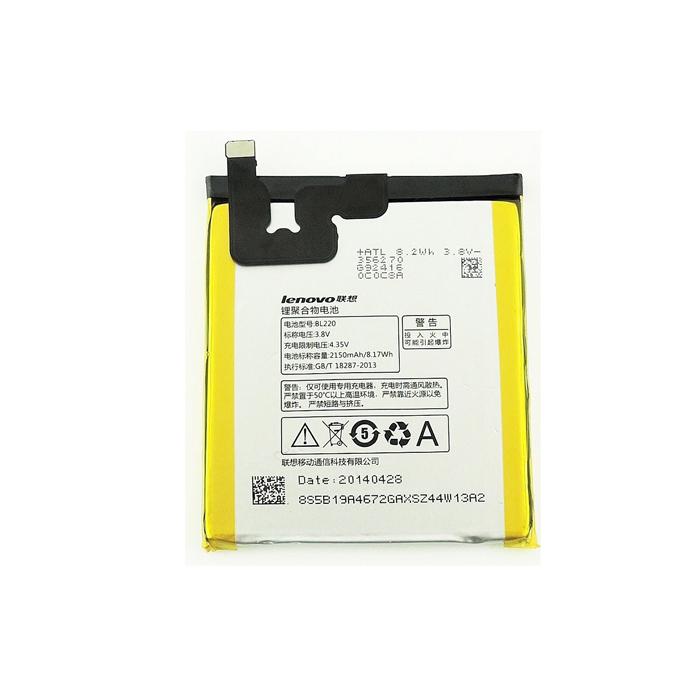 باتری موبایل Lenovo مدل BL220 با ظرفیت 2150mAh مناسب برای گوشی موبایل Lenovo S850
