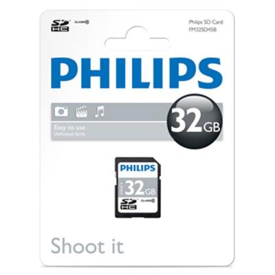 کارت حافظه SD فیلیپس مدل FM32SD45B کلاس 10 ظرفیت 32 گیگابایت