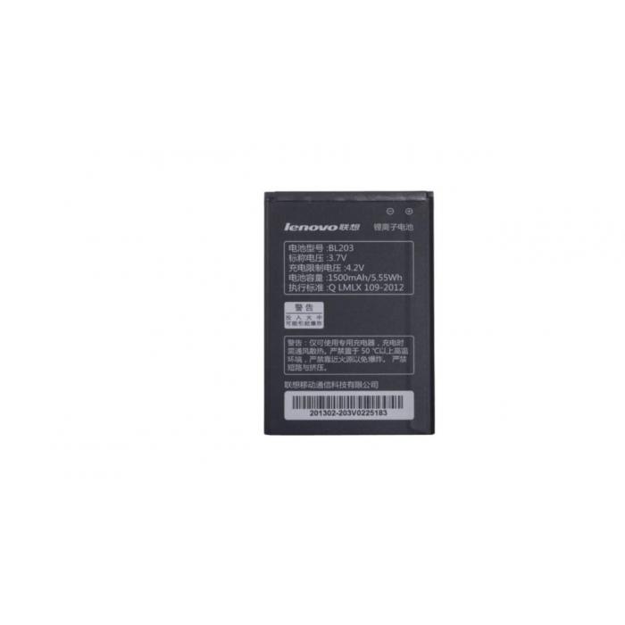 باتری موبایل Lenovo مدل BL203 با ظرفیت 1500mah مناسب برای گوشی موبایل Lenovo A278T