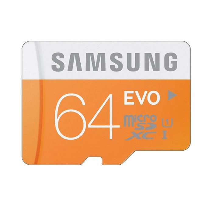 کارت حافظه microSDXC سامسونگ مدل Evo کلاس 10 استاندارد UHS-I U1 سرعت 48MBps ظرفیت 64 گیگابایت