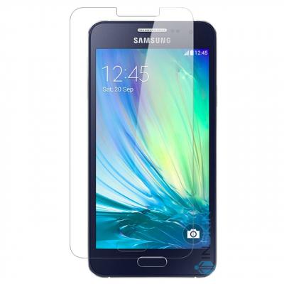 محافظ صفحه نمایش شیشه ای تمپرد هوکار مناسب Samsung Galaxy A3 (شفاف)