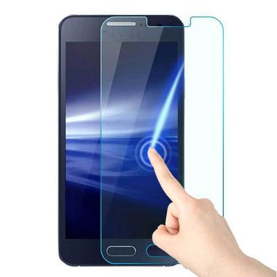 محافظ صفحه نمایش مدل Tempered 9H مناسب برای گوشی موبایل سامسونگ A3 2015 (بی رنگ شفاف)