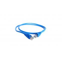 کابل شبکه CAT5E مدل UTP1M طول یک متر (آبی)