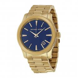 ساعت عقربه ای مایکل کورس مدل mk7049 (سرمه ای - طلایی)