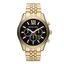 ساعت عقربه ای مایکل کورس مدل mk8286 (مشکی - طلایی)