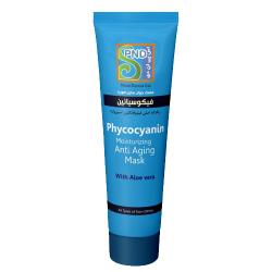 ماسک صورت آنتی اکسیدان 75 میل فیکوسیانین