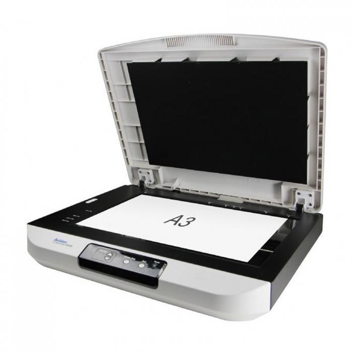 اسکنر حرفه ای اسناد ای ویژن مدل FB5000
