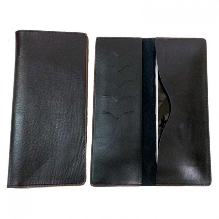 کیف موبایل چرم طبیعی زانکو چرم مدل KM-115
