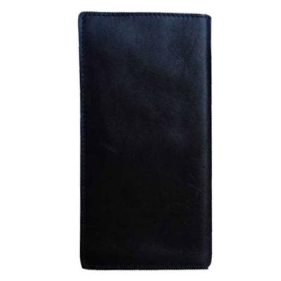 کیف موبایل چرم طبیعی زانکو چرم مدل KM-115 (قهوه ای تیره)