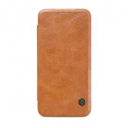 کیف کلاسوری نیلکین مدل Qin مناسب برای گوشی موبایل سامسونگ گلکسی S7 (قهوه ای)