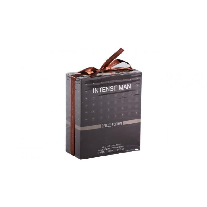 ادو پرفیوم مردانه فراگرنس ورد مدل Intense Man Deluxe Edition حجم 100 میلی لیتر