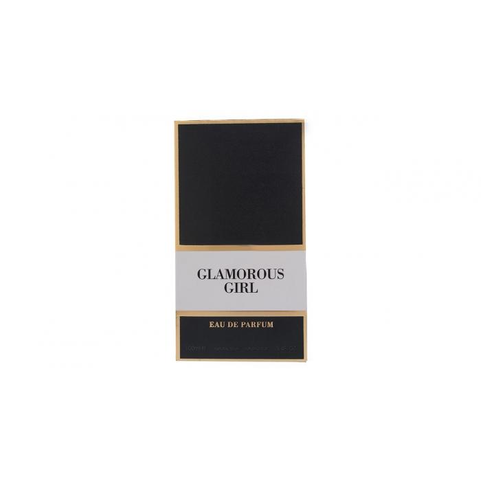 ادو پرفیوم زنانه  فراگرنس ورد مدل Glamorous Girl حجم 100 میلی لیتر