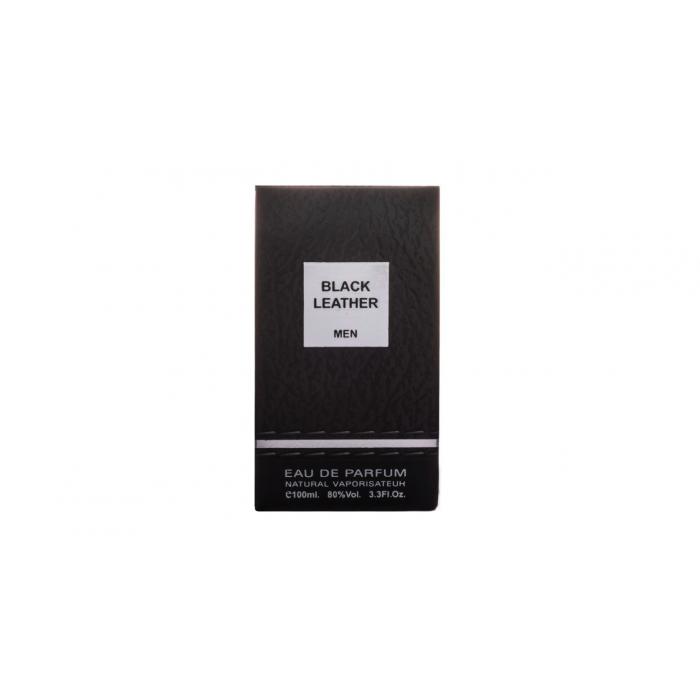 ادو پرفیوم مردانه فراگرنس ورد مدل Black Leather حجم 100 میلی لیتر
