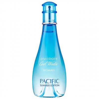 ادو تویلت زنانه داویدوف مدل Cool Water Pacific Summer Edition حجم 100 میلی لیتر