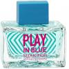 ادو تویلت زنانه آنتونیو باندراس مدل Play In Blue Seduction حجم 80 میلی لیتر