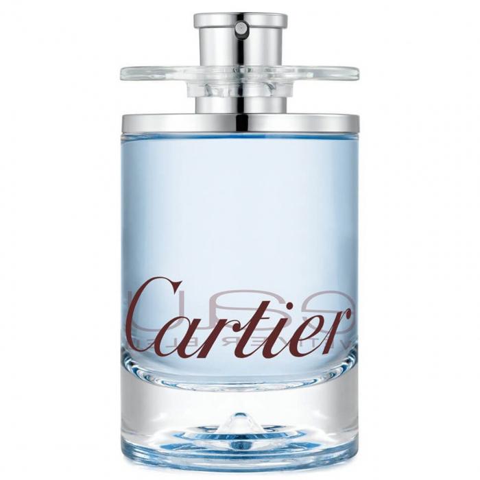 ادو تویلت کارتیه مدل Eau de Cartier Vetiver Bleu حجم 100 میلی لیتر