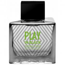 ادوتویلت مردانه آنتونیو باندراس مدل Play In Black Seduction حجم 100 میلی لیتر