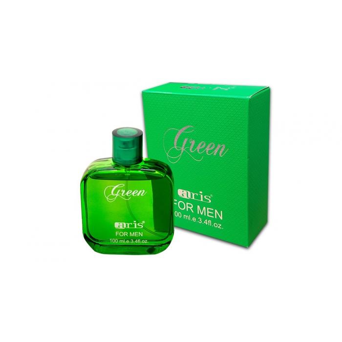 ادوپرفیوم  مردانه ARIS سبز صد میلی لیتر