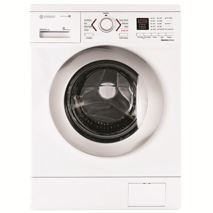 ماشین لباسشویی اسنوا مدل SWD-184 ظرفیت 8 کیلوگرم