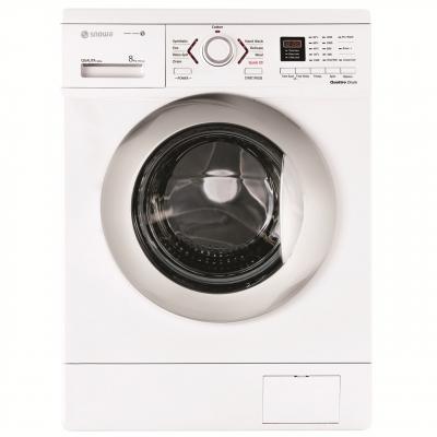ماشین لباسشویی اسنوا مدل SWD-184 ظرفیت 8 کیلوگرم (سفید)