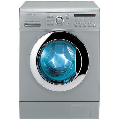 ماشین لباسشویی دوو مدل DWK-8214S3 با ظرفیت 8 کیلوگرم (نقره ای)