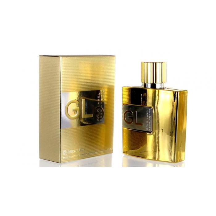 ادو تویلت مردانه نوپرفامز مدل Gold Label Pour Homme حجم 100 میلی لیتر