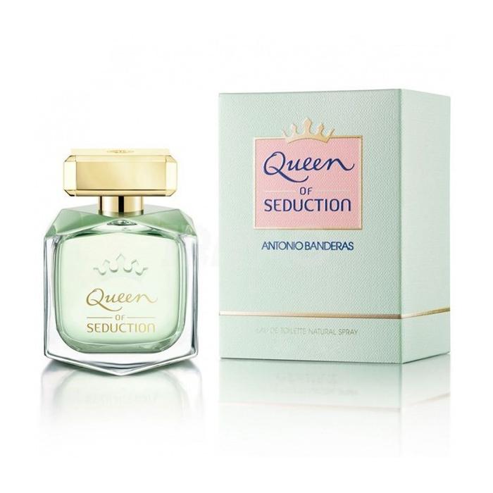 ادو تویلت زنانه آنتونیو باندراس مدل Queen حجم 80 میلی لیتر
