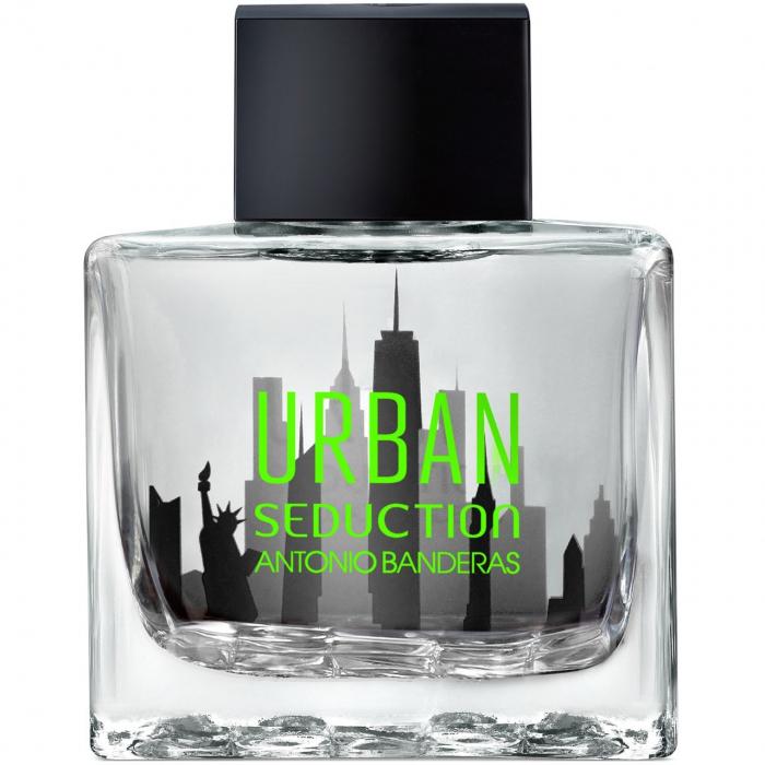 ادو تویلت مردانه آنتونیو باندراس مدل Urban in Black حجم 100 میلی لیتر
