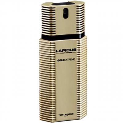 ادو تویلت مردانه تد لاپیدوس مدل Pour Homme Gold Extreme حجم 100 میلی لیتر