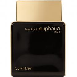 ادو پرفیوم مردانه کلوین کلاین مدل Liquid Gold Euphoria Men حجم 100 میلی لیتر