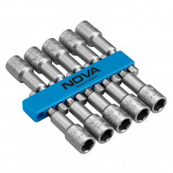 مجموعه 10 عددی سری بکس شیروانی نووا مدل NTS9204 (نقره ای)