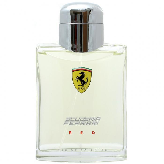 ادو تویلت مردانه فراری مدل Scuderia Ferrari Red حجم 125 میلی لیتر