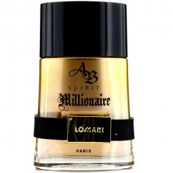 ادو تویلت مردانه لومانی مدل Spirit Millionaire حجم 100 میلی لیتر
