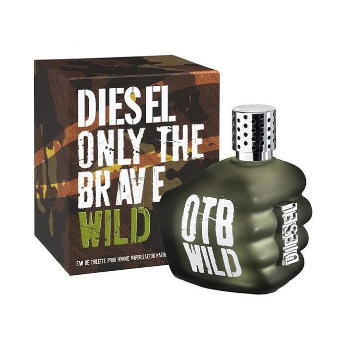 ادو تویلت مردانه دیزل مدل Only The Brave Wild حجم 125 میلی لیتر