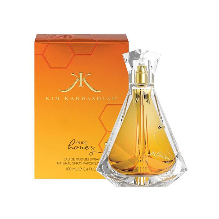 ادو پرفیوم زنانه کیم کارداشیان مدل Pure Honey حجم 100 میلی لیتر
