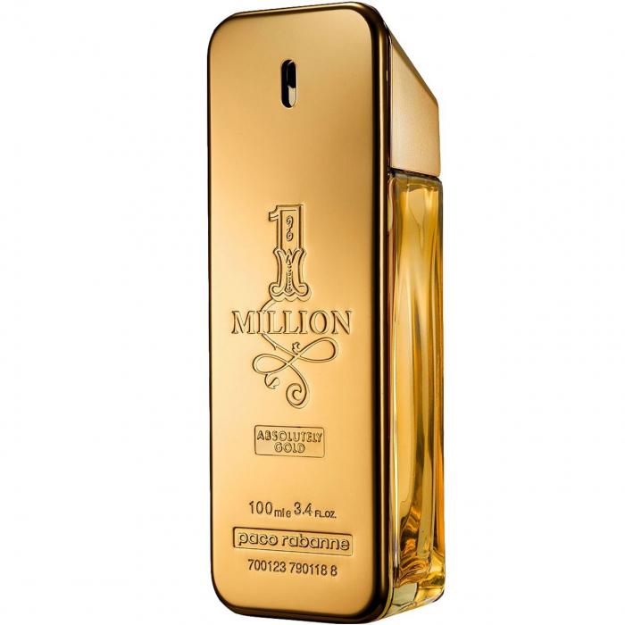 پرفیوم مردانه پاکو رابان مدل 1Million Absolutely Gold حجم 100 میلی لیتر
