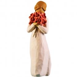 مجسمه امین کامپوزیت مدل احاطه با عشق کد 68 (چند رنگ)
