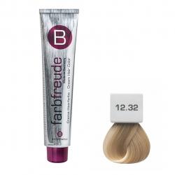 رنگ موی بریول مدل بژ طلائی خاص شماره 12.32