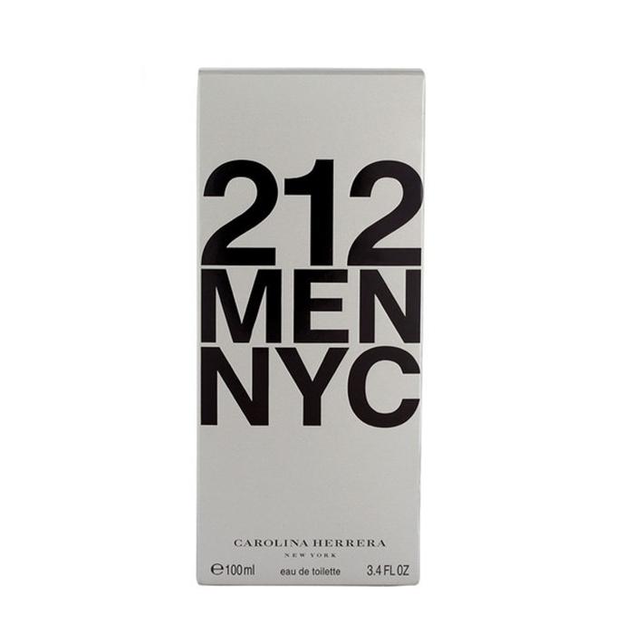ادو تویلت مردانه کارولینا هررا مدل Men NYC 212 حجم 100 میلی لیتر