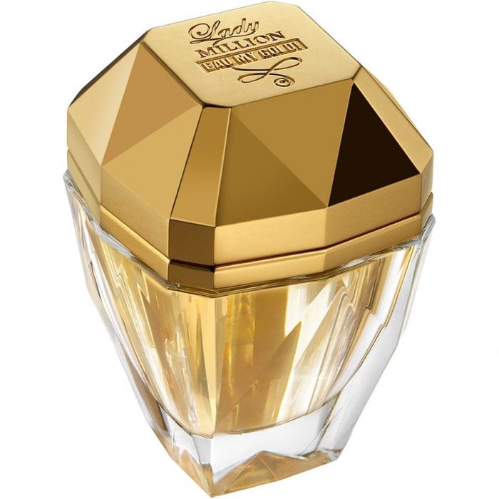 ادو تویلت زنانه پاکو رابان مدل Lady Million Eau My Gold حجم 50 میلی لیتر