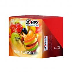 کاندوم بونکس مدل Fruit Flavored بسته 12 عددی