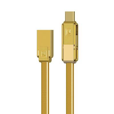 کابل تبدیل USB به microUSB/USB-C/لایتنینگ ریمکس مدل Gplex طول 1 متر (مشکی)