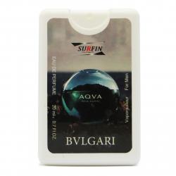 عطر جیبی مردانه سورفین مدل Bvlgari Aqva حجم 20 میلی لیتر