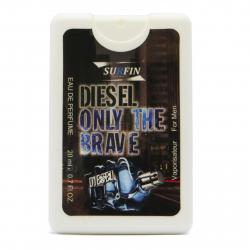 عطر جیبی مردانه سورفین مدل Diesel Only The Brave حجم 20 میلی لیتر