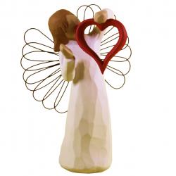 مجسمه امین کامپوزیت مدل فرشته سورپرایز کد 21/1